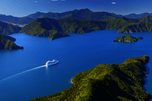 Ferry Wellington Picton Marlborough Sounds Cruise Tour Operator self drive small group tours golf luxury honeymoon travel newzealand ageny bespoke tour operrator award eco trips