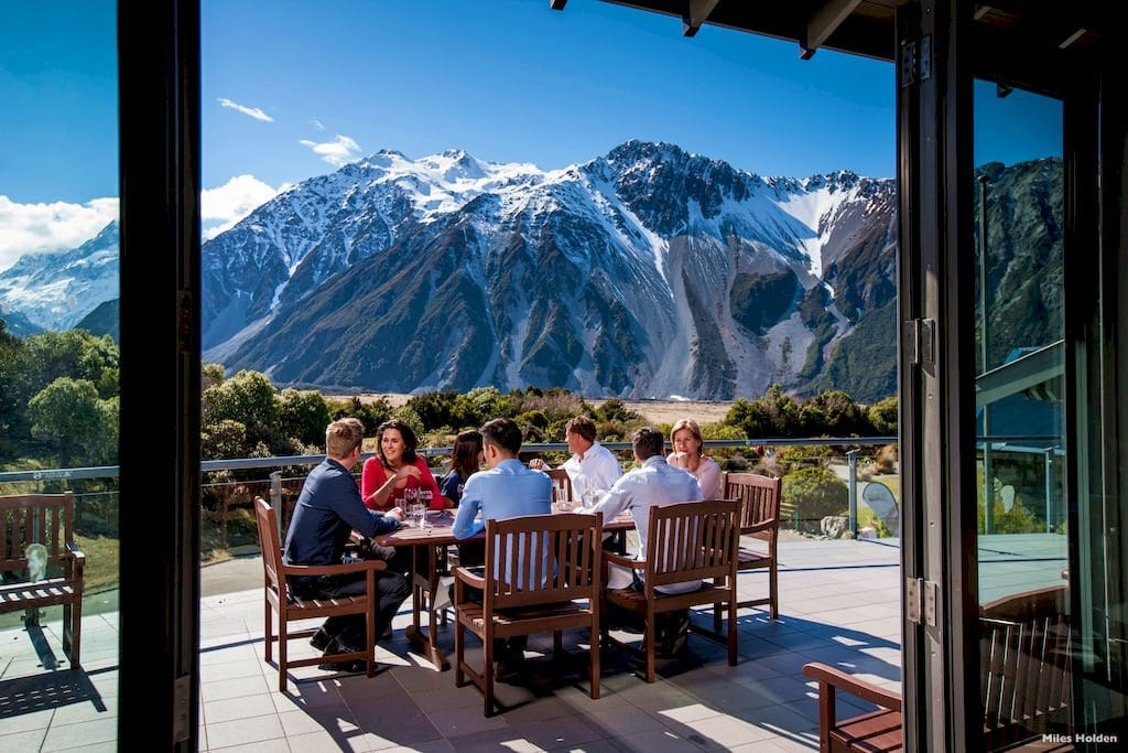 Hotel Aoraki Mt Cook Hermitage Self DDrive Tour New Zealand South Island Private Tours Luxury travel honeymoon group tour operator Auckland Nature Trip Holiday Destination Management DMC