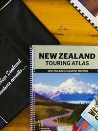 New Zealand Self Drive Tours Road Map holiday specialist book tailormade tour guides driving new zealand