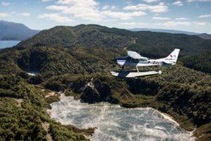 volcanic air floatplane rotorua safari scenic flight new zealand self drive tours