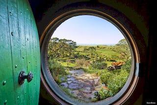 Hobbingen Auckland Tagestour Neuseeland Auenland Drehort Tagesausflug