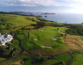 Golf Tour New Zealand Self Drive Holiday golfing luxury