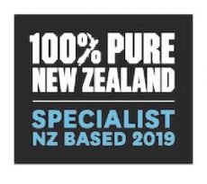 New Zealand Tourism Board certified New Zealand Specialist