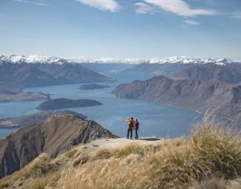 wanaka Roys Peak hike self drive hoiday explore new zealand luxury hiking nature